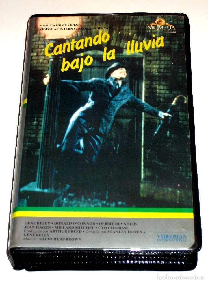 CANTANDO BAJO LA LLUVIA (1952) - STANLEY DONEN GENE KELLY DEBBIE REYNOLDS VHS 1ª EDICION (Cine - Películas - VHS)