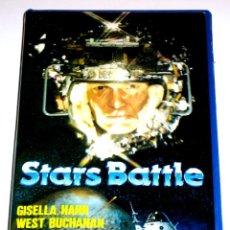 Cine: STARS BATTLE (1978) - ALFONSO BRESCIA JOHN RICHARDSON YANTI SOMMER GISELA HAHN VHS. Lote 106668483