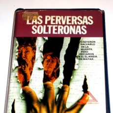 Cine: LAS PERVERSAS SOLTERONAS (1970) - JAMES KELLEY BERYL REID FLORA ROBSON JOHN HAMILL VHS. Lote 106668975
