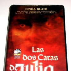 Cine: LAS DOS CARAS DE JULIA (1978) - WES CRAVEN LINDA BLAIR JEREMY SLATE MCDONALD CAREY VHS. Lote 106669107