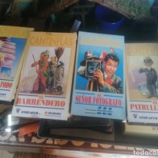 Cine: 4 VHS CANTINFLAS. Lote 106901867