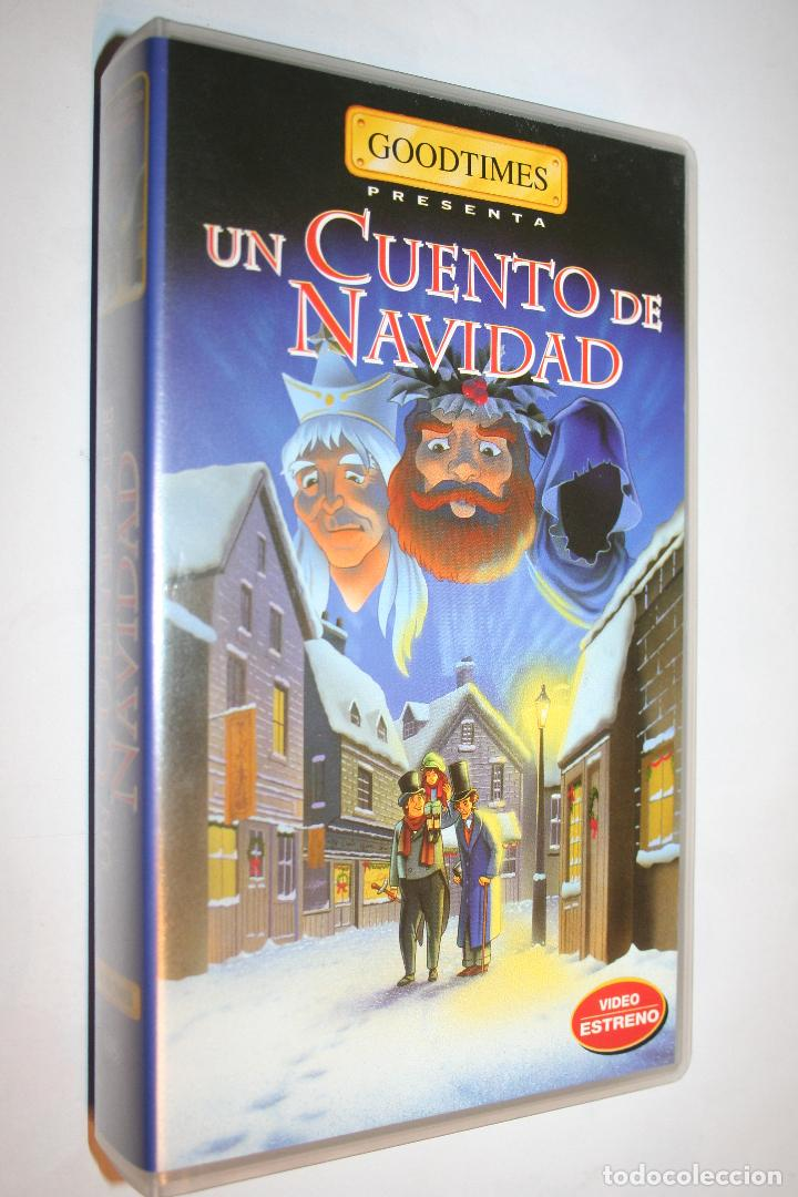 Peliculas Dibujos Animados De Navidad.Un Cuento De Navidad Goodtimes Vhs Infantil Dibujos Animados