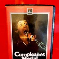 Cine: CUMPLEAÑOS MORTAL - HAPPY BIRTHDAY TO ME (1981) RAREZA SERIE B - UNICA EN TC. Lote 107065167