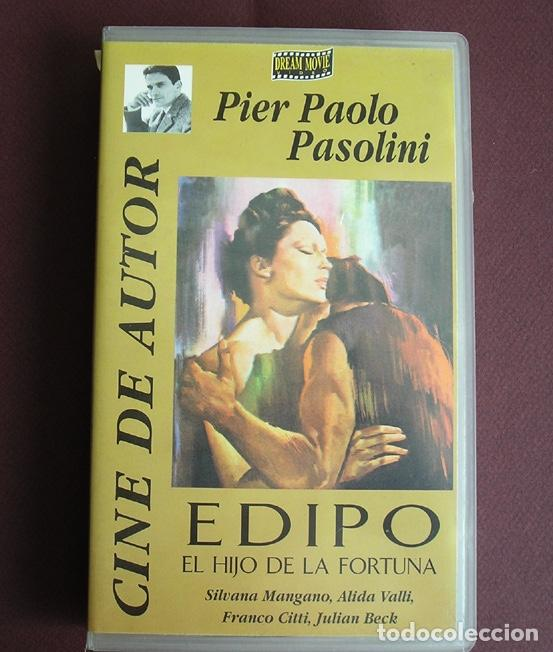 EDIPO, EL HIJO DE LA FORTUNA (EDIPO REY), PIER PAOLO PASOLINI, CON SILVANA MANGANO, FRANCO CITTI... (Cine - Películas - VHS)