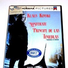 Cine: NOSFERATU PRINCIPE DE LAS TINIEBLAS (NOSFERATU EN VENECIA) (1988) - KLAUS KINSKI VHS. Lote 107241755