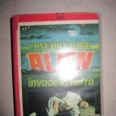 Cine: CONTAMINACIÓN ALIEN INVADE LA TIERRA. Lote 107374791
