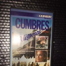 Cine: CUMBRES PELIGROSAS. Lote 107532246