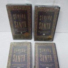 Cine: SEMANA SANTA I-II-III Y IV. MANUEL GUTIERREZ ARAGON. JUAN LEBRON PRODUCCIONES 1994 VHS. NUEVO. Lote 107595251