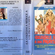 Cine: LA COLEGIALA SEDUCE A LOS PROFESORES LA LICEALE SEDUCE I PROFESSORI (1979). Lote 107619955