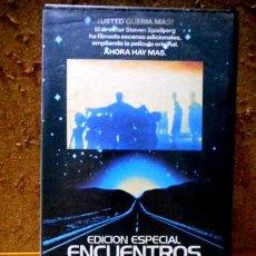Cine: ENCUENTROS EN LA TERCERA FASE -EDICIÓN ESPECIAL- (1977/1980) VHS. Lote 107651843