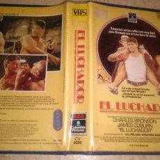 Cine: EL LUCHADOR, CHARLES BRONSON VHS. Lote 107655031