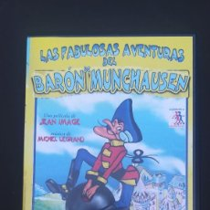 Cine: VHS LAS FABULOSAS AVENTURAS DEL BARÓN DE MUNCHAUSEN. Lote 107855259