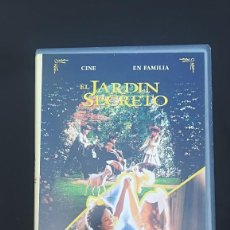 Cine: VHS EL JARDÍN SECRETO – LA PRINCESITA CINE EN FAMILIA WANER BROSS. Lote 107856063