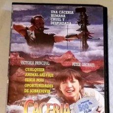 Cine: VHS - CACERÍA SALVAJE 1994. Lote 108256123