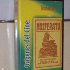 Cine: ORIGENES DEL CINE NOSFERATU 1922 DIRIGIDA POR F. W. MURNAU PELICULA MUDA - VHS -. Lote 108265259