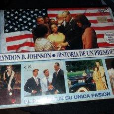 Cine: LYNDON B. JOHNSON- HISTORIA DE UN PRESIDENTE- VHS DOBLE- 196 MIN.. Lote 108274056