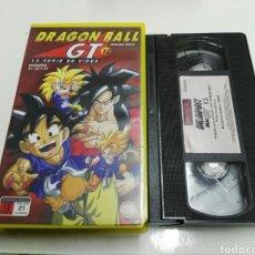 Cinema: VHS- DRAGON BALL GT SEGUNDA EPOCA VOLUMEN 13- EPISODIOS 37, 38 Y 39. Lote 108437543