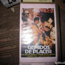 Cine: GEMIDOS DE PLACER DE JESÚS FRANCO (JESS FRANK, JESS FRANCO). Lote 108668519