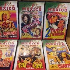 Cine: VHS !!! JORGE NEGRETE / INTERESANTE CONJUNTO DE 6 VHS - VIVA MÉXICO / VER TÍTULOS EN FOTOS.. Lote 146475100
