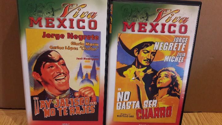 Cine: VHS !!! JORGE NEGRETE / INTERESANTE CONJUNTO DE 6 VHS - VIVA MÉXICO / VER TÍTULOS EN FOTOS. - Foto 3 - 146475100