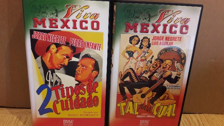Cine: VHS !!! JORGE NEGRETE / INTERESANTE CONJUNTO DE 6 VHS - VIVA MÉXICO / VER TÍTULOS EN FOTOS. - Foto 4 - 146475100