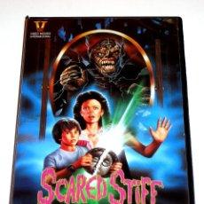 Cine: EL TALISMAN DEL TERROR (SCARED STIFF) (1987) - RICHARD FRIEDMAN ANDREW STEVENS MARY PAGE KELLER VHS. Lote 108855775