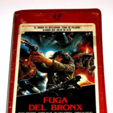 Cine: FUGA DEL BRONX (1983) - ENZO G. CASTELLARI MARK GREGORY HENRY SILVA VALERIA D'OBICI VHS. Lote 108875803