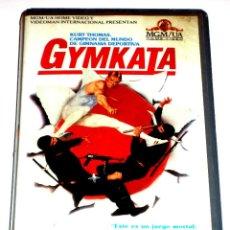 Cine: GYMKATA (1985) - ROBERT CLOUSE KURT THOMAS TETCHIE AGBAYANI RICHARD NORTON EDWARD BELL VHS. Lote 108982843