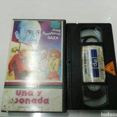 Cine: VHS- UNA Y SONADA- SAZA ALHOA VIDEO. Lote 177569712