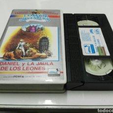 Cine: VHS- DANIEL Y LA JAULA DE LOS LEONES- HANNA BARBERA. Lote 108997919