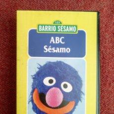 Cine: VHS BARRIO SESAMO Nº 2 ABC SESAMO. Lote 109296050