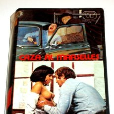 Cine: CAZA AL MARSELLES (1974) - STELVIO MASSI TOMAS MILIAN RAY LOVELOCK STEFANIA CASINI VHS. Lote 109310915