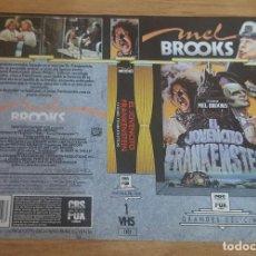 Cine: CARATULA VHS - EL JOVENCITO FRANKENSTEIN . Lote 109365267