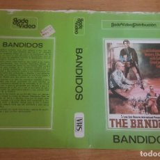 Cine: CARATULA VHS - BANDIDOS - WESTERN. Lote 109372847