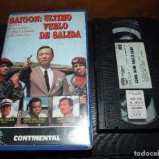 Cine: SAIGON ULTIMO VUELO DE SALIDA - LARRY ELIKANN - RICHARD CRENNA , JAMES EARL - CONTINENTAL 1990. Lote 109596999