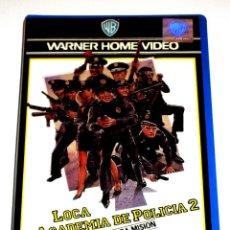 Cinema: LOCA ACADEMIA DE POLICIA 2 (1985) - JERRY PARIS STEVE GUTTENBERG MICHAEL WINSLOW VHS 1ª EDICIÓN. Lote 109935371