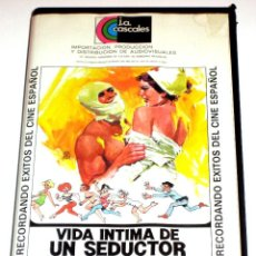Cine: VIDA INTIMA DE UN SEDUCTOR (1975) - JAVIER AGUIRRE CARLOS ESTRADA TERESA GIMPERA BLAKI VHS. Lote 109992943