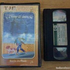 Cine: VHS - JOHNNY EL INVISIBLE- RAREZA!!. Lote 109993971