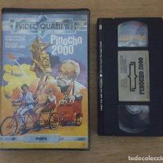 Cine: VHS - PINOCHO 2000 - RAREZA BRASILEÑA Y UNICA COPIA EN TODOCOLECCION!!. Lote 109994035