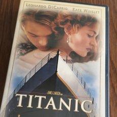 Cine: PELÍCULA VHS TITANIC. Lote 110030008