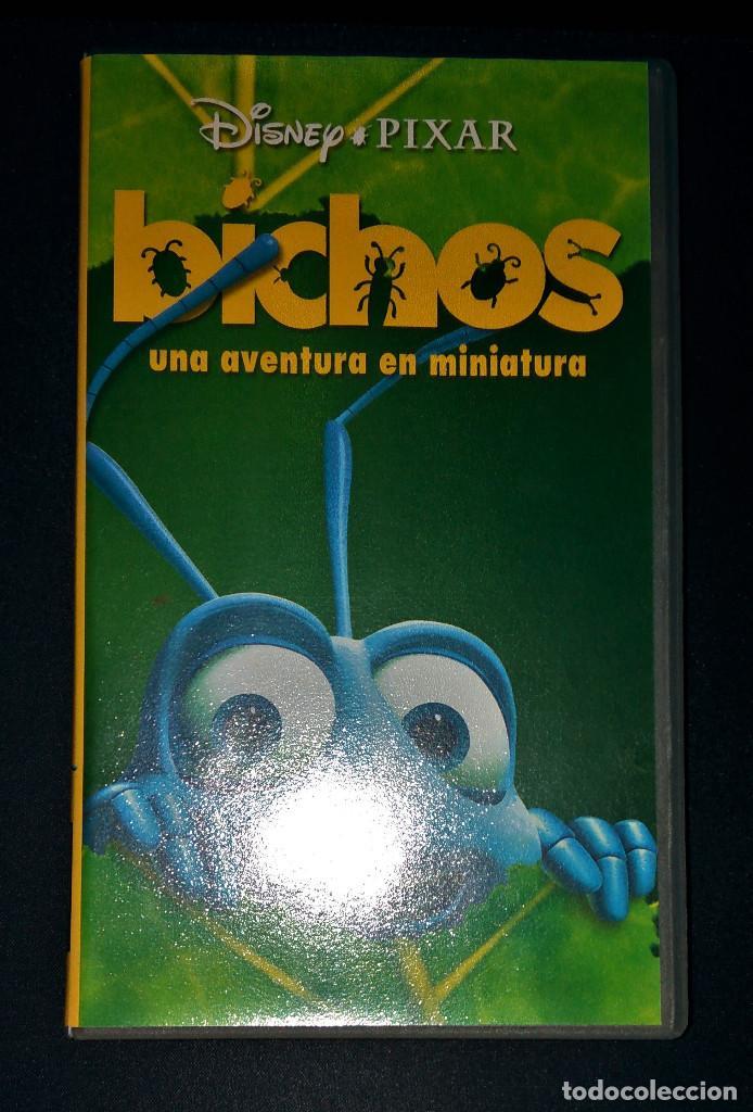 Bichos Vhs Pixar A Bug S Life Animacion Disney Buy Vhs Movies At Todocoleccion 110157935