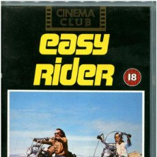 Cine: DENNIS HOOPER - EASY RIDER - CINEMA CLUB VHS CC1122 - ENGLISH. Lote 110236675