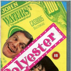 Cine: JOHN WATERS - POLYESTER - VHS CAS9005 - ENGLISH - DIVINE. Lote 110237759