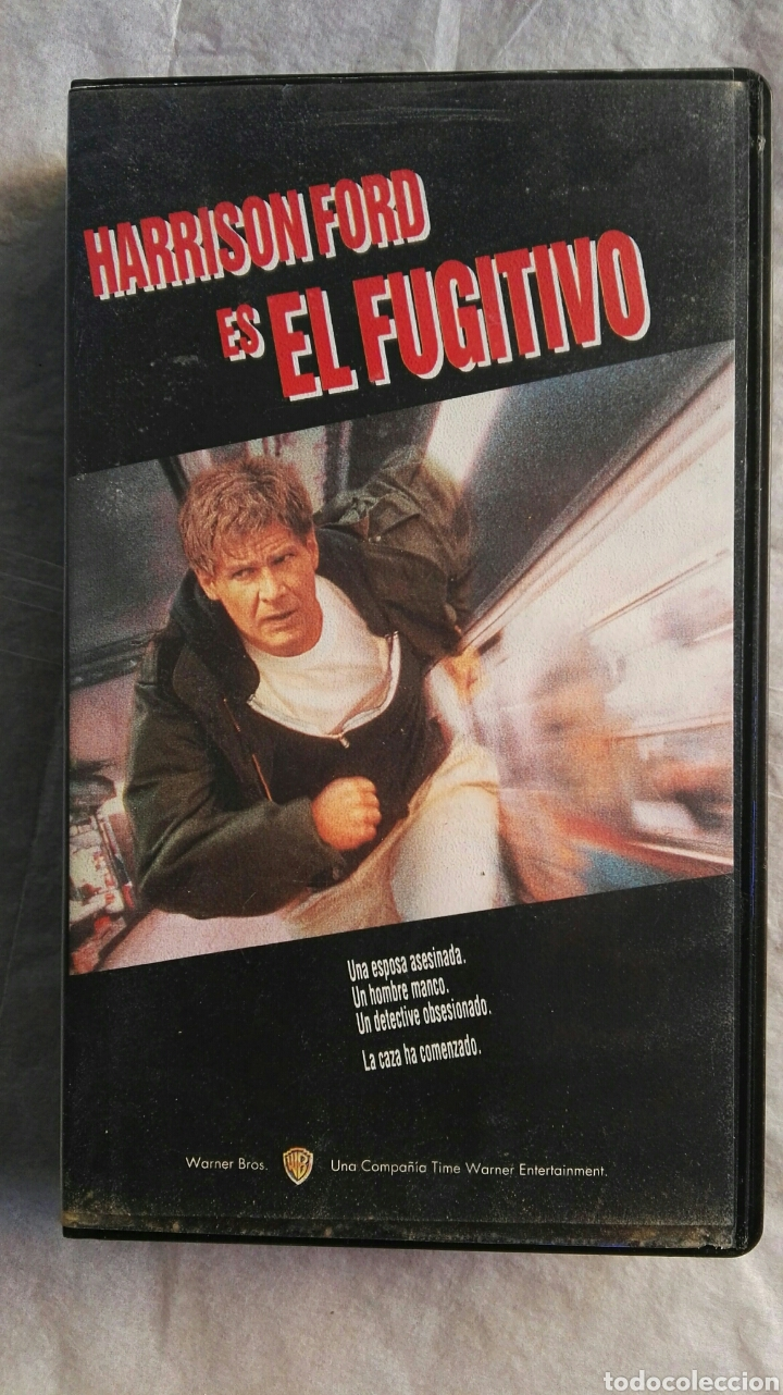 EL FUGITIVO VHS HARRISON FORD (Cine - Películas - VHS)