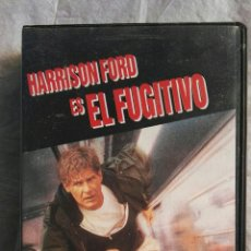 Cine: EL FUGITIVO VHS HARRISON FORD. Lote 110255111