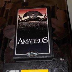 Cine: AMADEUS - VERSION VHS - 1989. Lote 110366495