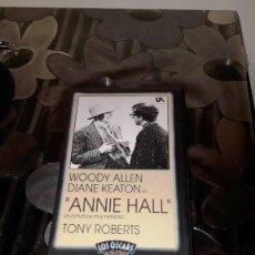 Cine: ANNIE HALL - VERSION VHS - 1977. Lote 110401355