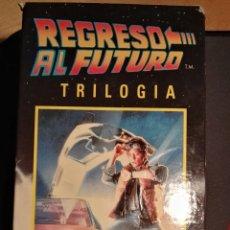 Cine: VHS. REGRESO AL FUTURO. TRILOGIA.. Lote 110404618