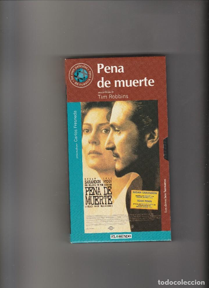 PELICULA VHS PENA DE MUERTE Nº 113 PERIODICO EL MUNDO (Cine - Películas - VHS)