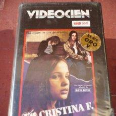 Cine: YO CRISTINA F (1980) VHS.. Lote 110493547